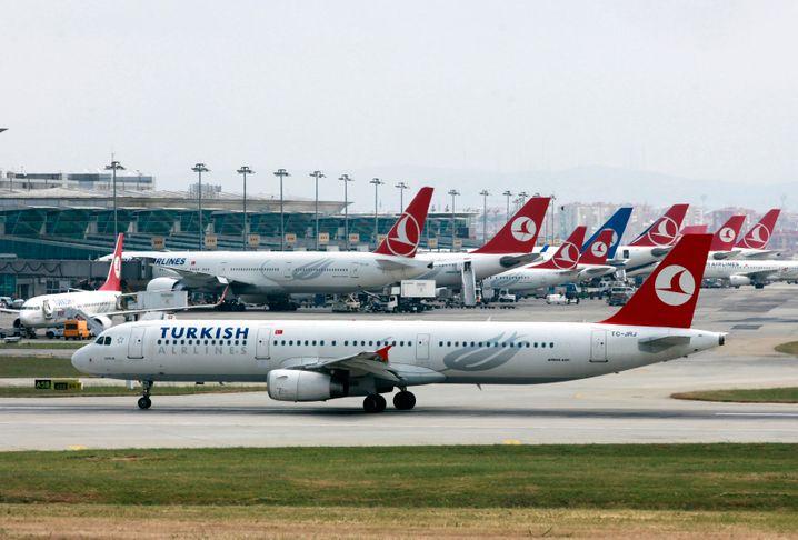 Der Ataturk International Airport in Istanbul.