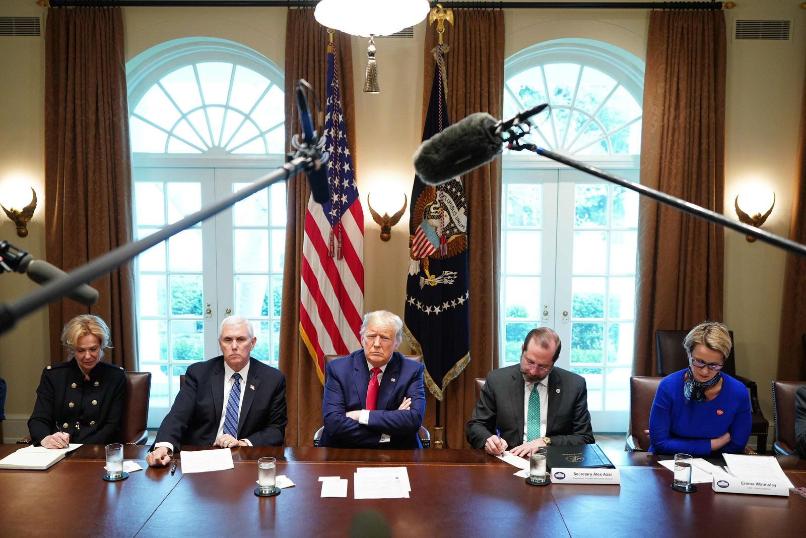 White House / Donald Trump / Coronavirus / Mike Pence / GSK