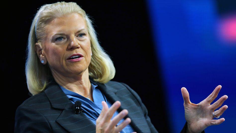Ginni Rometty: Die Chefin von IBM sucht mit der Milliardenübernahme von Red Hat den Befreeiungsschlag