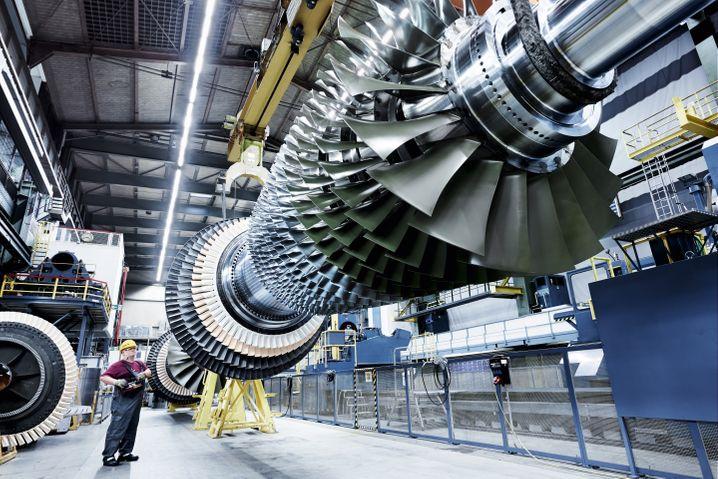 Siemens-Gasturbine