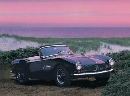 1955: BMW 507 - uncharakteristische Frontpartie