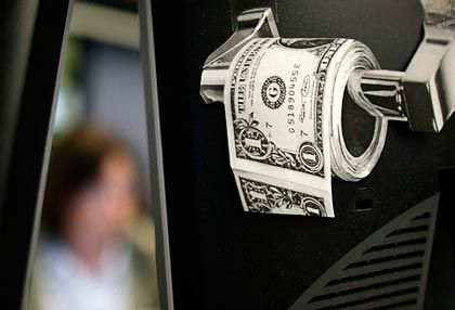 Abgeschrieben: Banken könnten durch die Krise bis 2010 2,5 Billionen Dollar verlieren