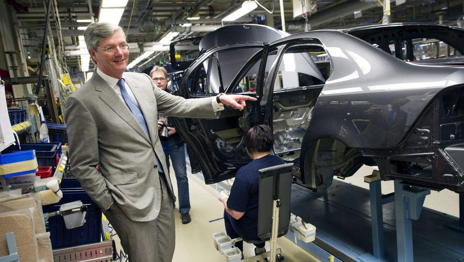 """Spyker-Chef und Saab-Eigner Victor Muller: """"Nach mehreren Wochen mit schlechten Nachrichten gibt es jetzt die richtige Lösung für Saab"""""""