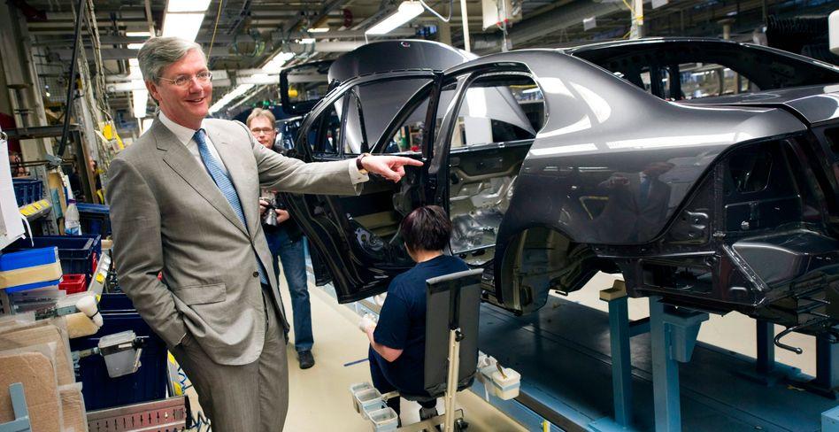 Saab-Werk in Trollhättan: Hier will der niederländische Untenrehmenseigner Victor Muller gemeinsam mit dem chinesischen Autohändler Pang Da an der Zukunft der einstigen GM-Tochter bauen.
