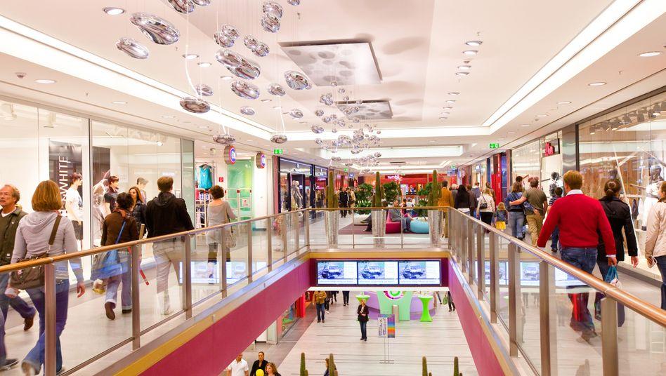 Einkaufszentrum in Hamburg: Treiber des Aufschwungs ist nach Ansicht der Experten die starke Binnennachfrage