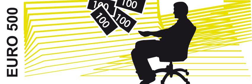 GRAFIK EURO 500 / 2012 / Finanzdienstleister