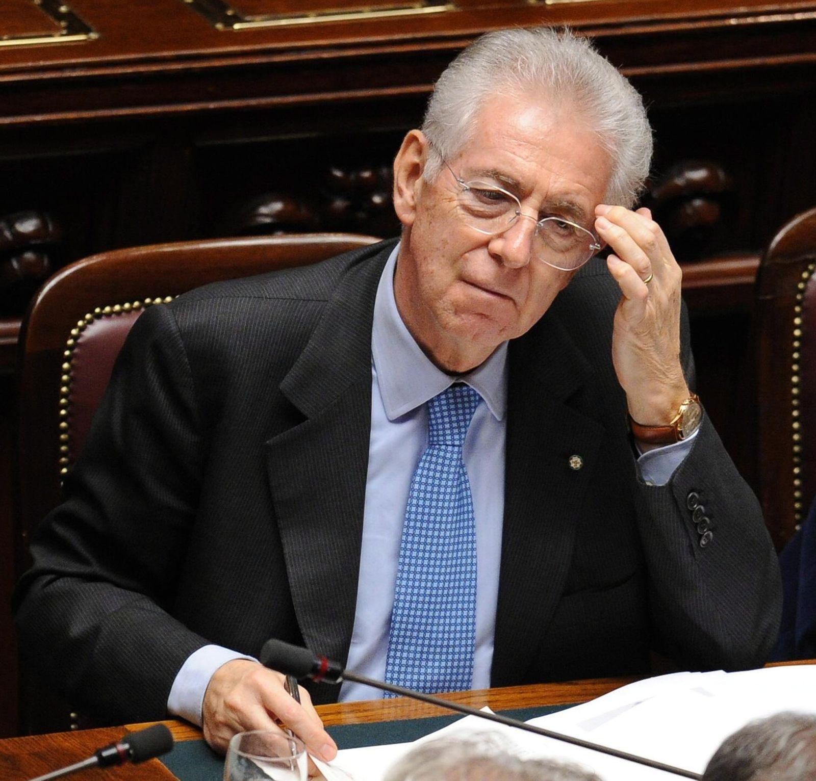 Monti vor Hürdenlauf zum Sparpaket