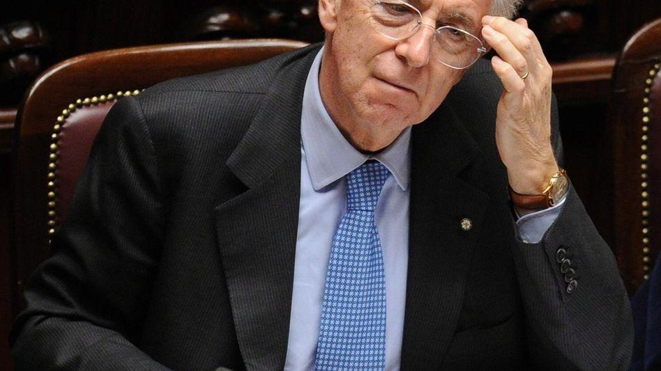 Vertrauensbeweis: Übergangspremier Mario Monti sammelte an den Märkten neun Milliarden Euro ein