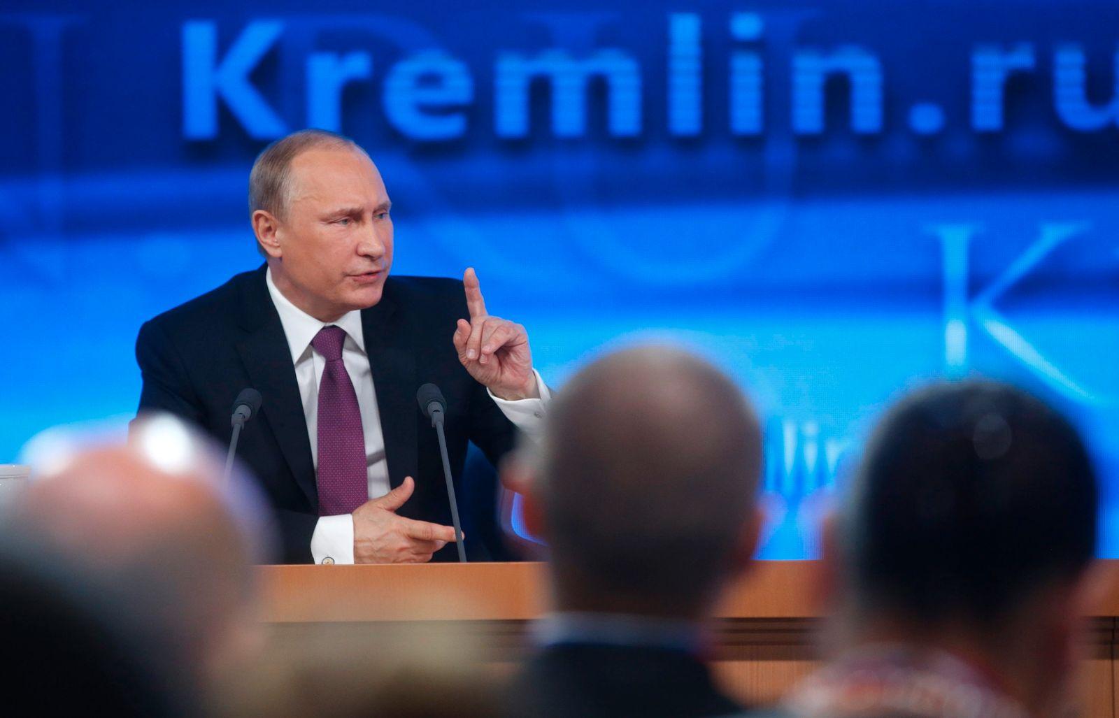 Putin in Moskau zur Krise
