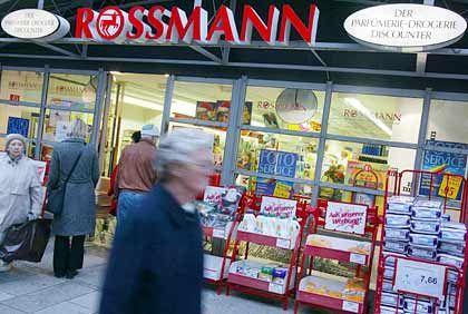 Sprudelnde Geldquelle: Eine Filiale von Rossmann, in der Innenstadt von Hildesheim