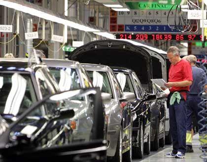 Auch die Saab 9-5-Produktion soll verlegt werden: Saab-Werk in Trollhättan