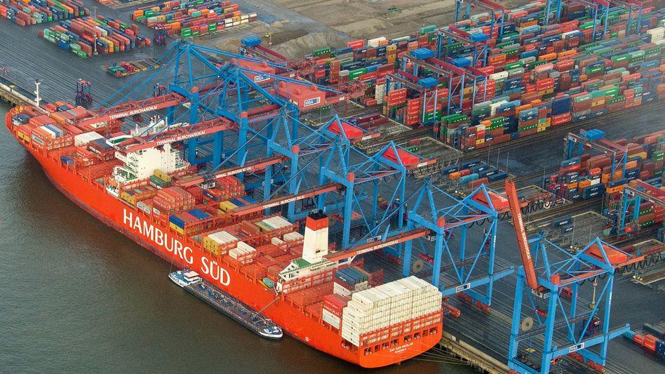 Künftig in dänischem Besitz: Die Oetker-Tochter Hamburg Süd soll an die Reedereigruppe Maersk gehen