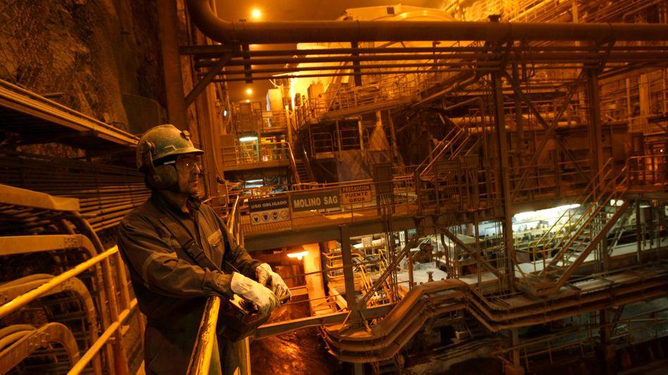 Kupferverarbeitung in Chile: Der Rohstoff wird vielseitig verwendet - die Nachfrage hat den Preis in die Höhe getrieben