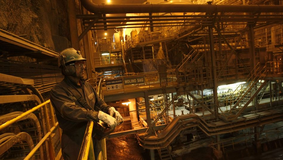 Kupferbergwerk in Chile: Der Rohstoff ist so teuer wie noch nie