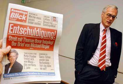 Verlagschef Ringier: Millionschwere Entschuldigung