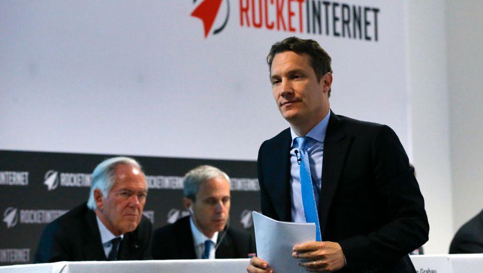 Weitere Millionen: Rocket-Internet-Chef Oliver Samwer genießt noch das Vertrauen der Investoren