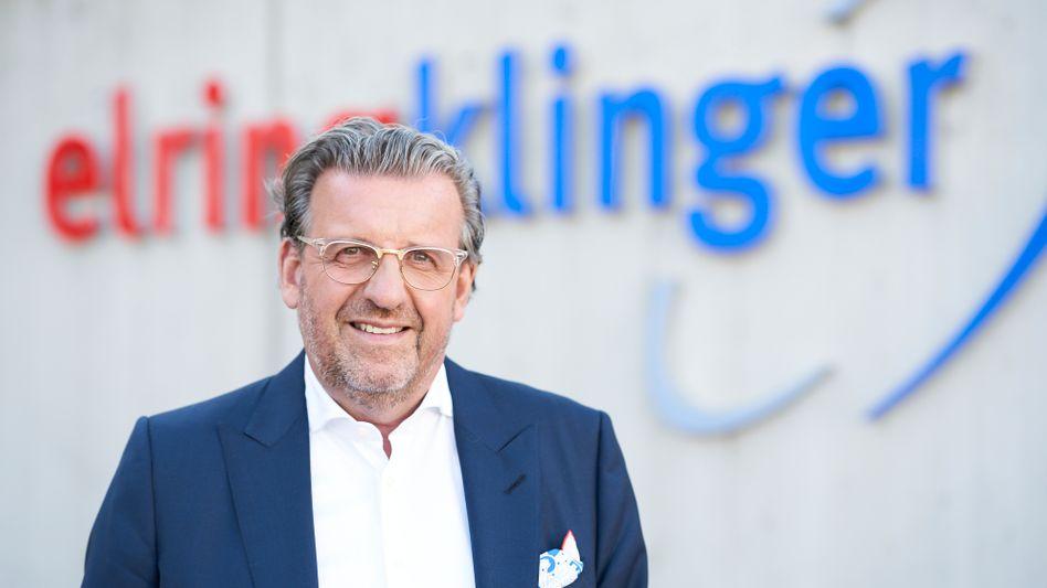 Stefan Wolf, Vorstandsvorsitzender des Automobilzulieferers ElringKlinger