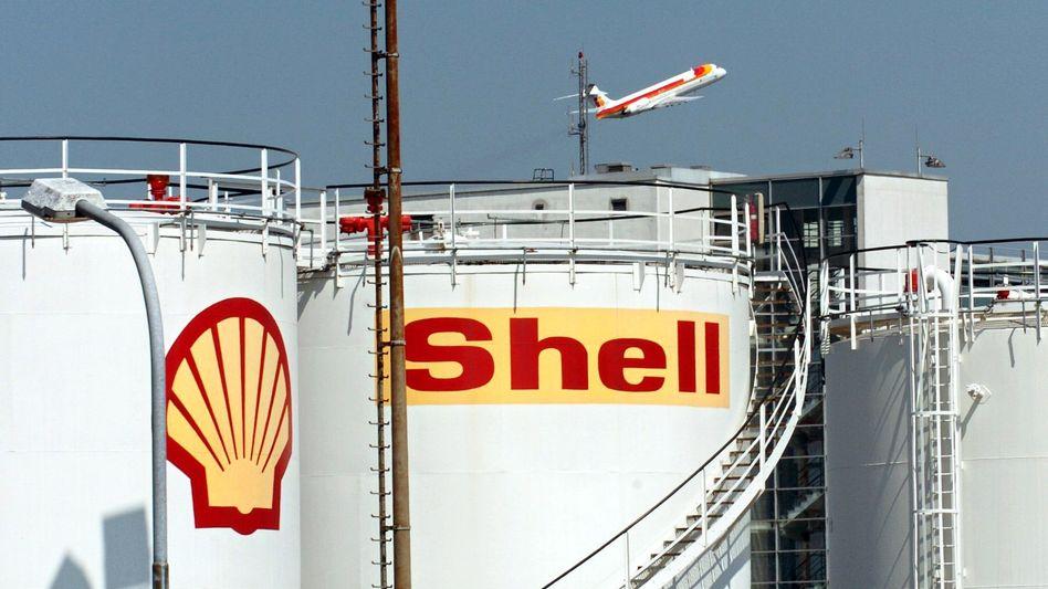 Kerosin-Tanks von Shell: Die Gewinnmargen im Downstream-Geschäft - etwa bei den Raffinerien und beim Verkauf von Benzin - seien schwach gewesen
