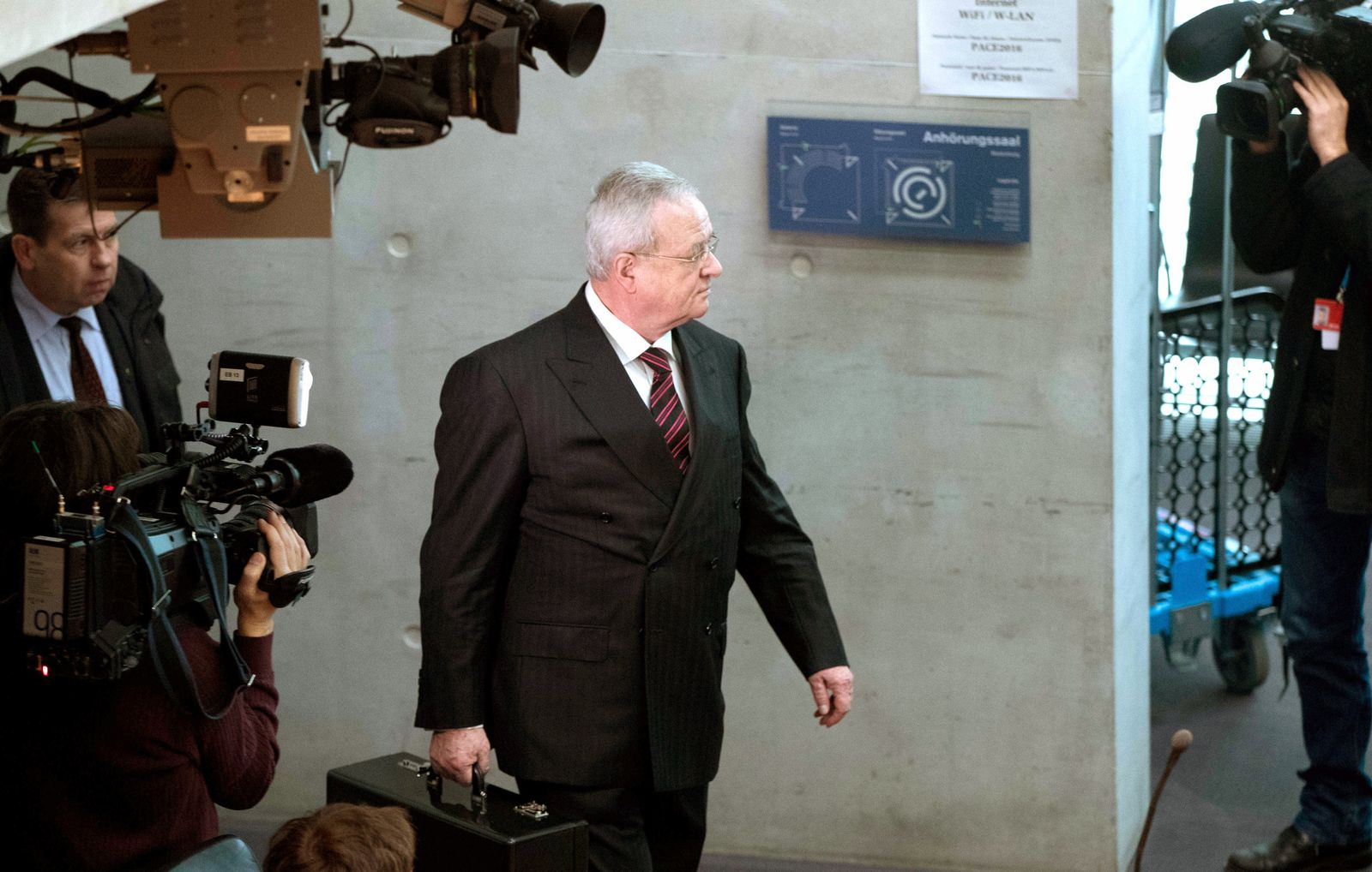 Martin Winterkorn / Bundestag