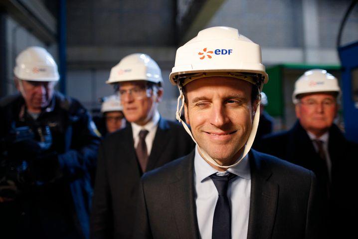 Aktive Rolle: Wirtschaftsminister Emmanuel Macron