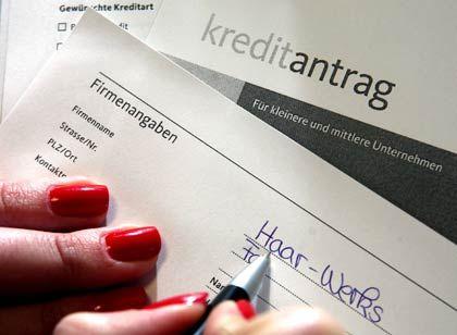 Kritische Géldversorgung: Die Banken weisen alle Vorwürfe von sich, bei der Kreditvergabe zu zögerlich zu sein