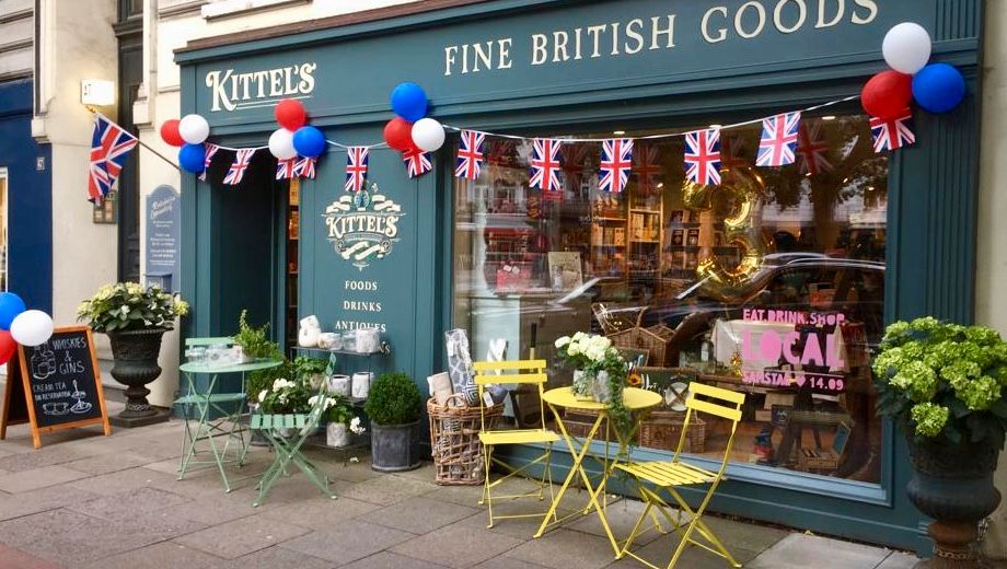 Kittel's Fine British Goods in Hamburg
