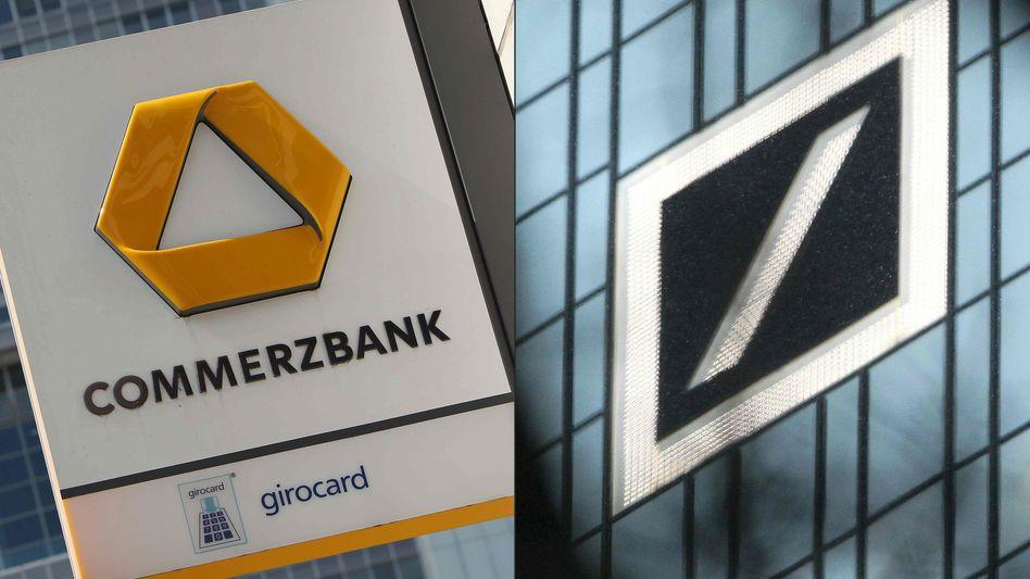 Stark genug um dauerhaft allein zu bestehen? Manche haben da Zweifel. Die zwei größten deutschen Privatbanken haben am Sonntag offiziell den Beginn von Fusionsgesprächen verkündet - Ausgang und Ergebnis offen.