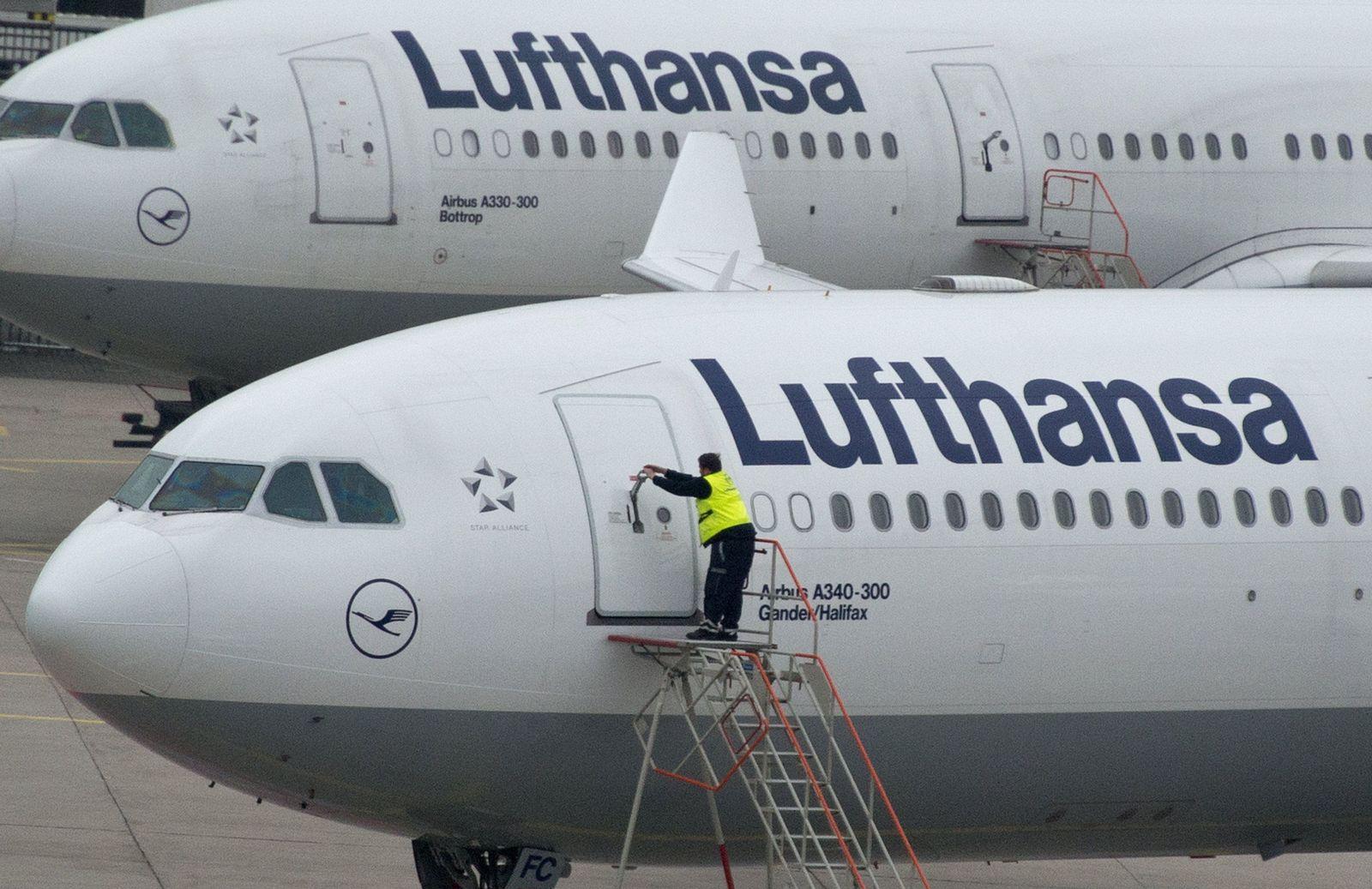 Streik / Lufthansa Piloten