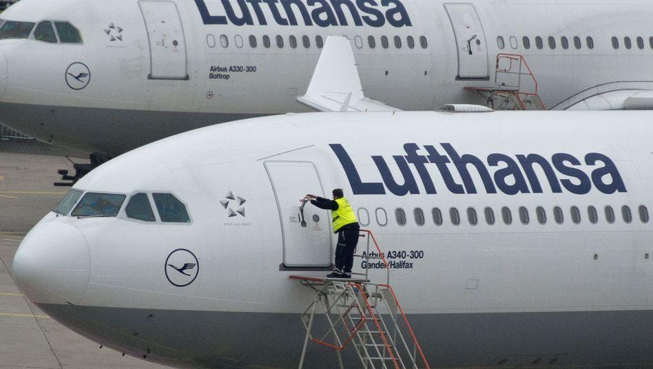 Startklar: Die Lufthansa will die Managementstrukturen umkrempeln