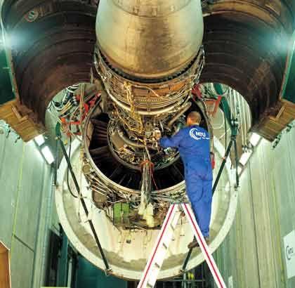 Gut 35 Millionen Aktien platziert: MTU-Turbine auf dem Prüfstand