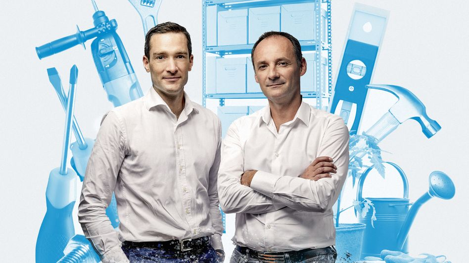 Business Rebels: Philippe de Chanville (l.) und Christian Raisson greifen Obi, Hornbach und Co. an