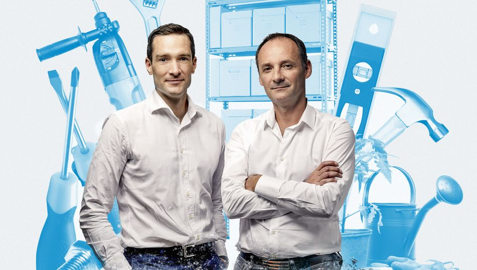 Business Rebels: Philippe de Chanville (l.) und Christian Raisson greifen Obi, Hornbach und Co. an