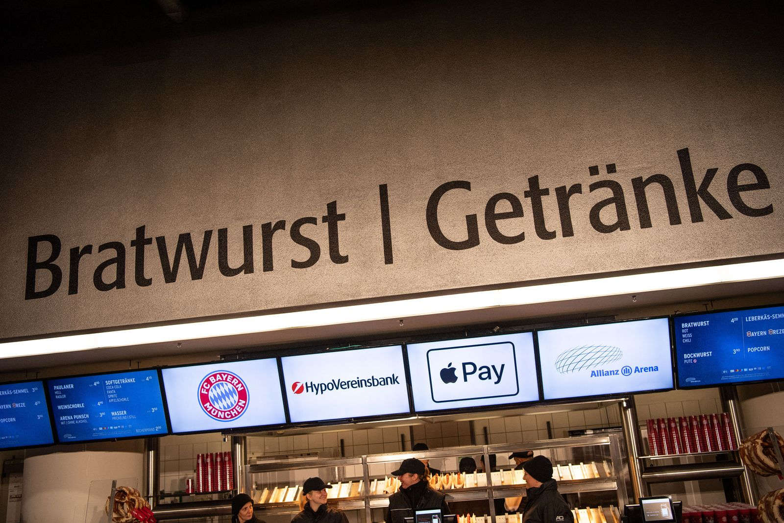 Apple Pay in Allianz Arena