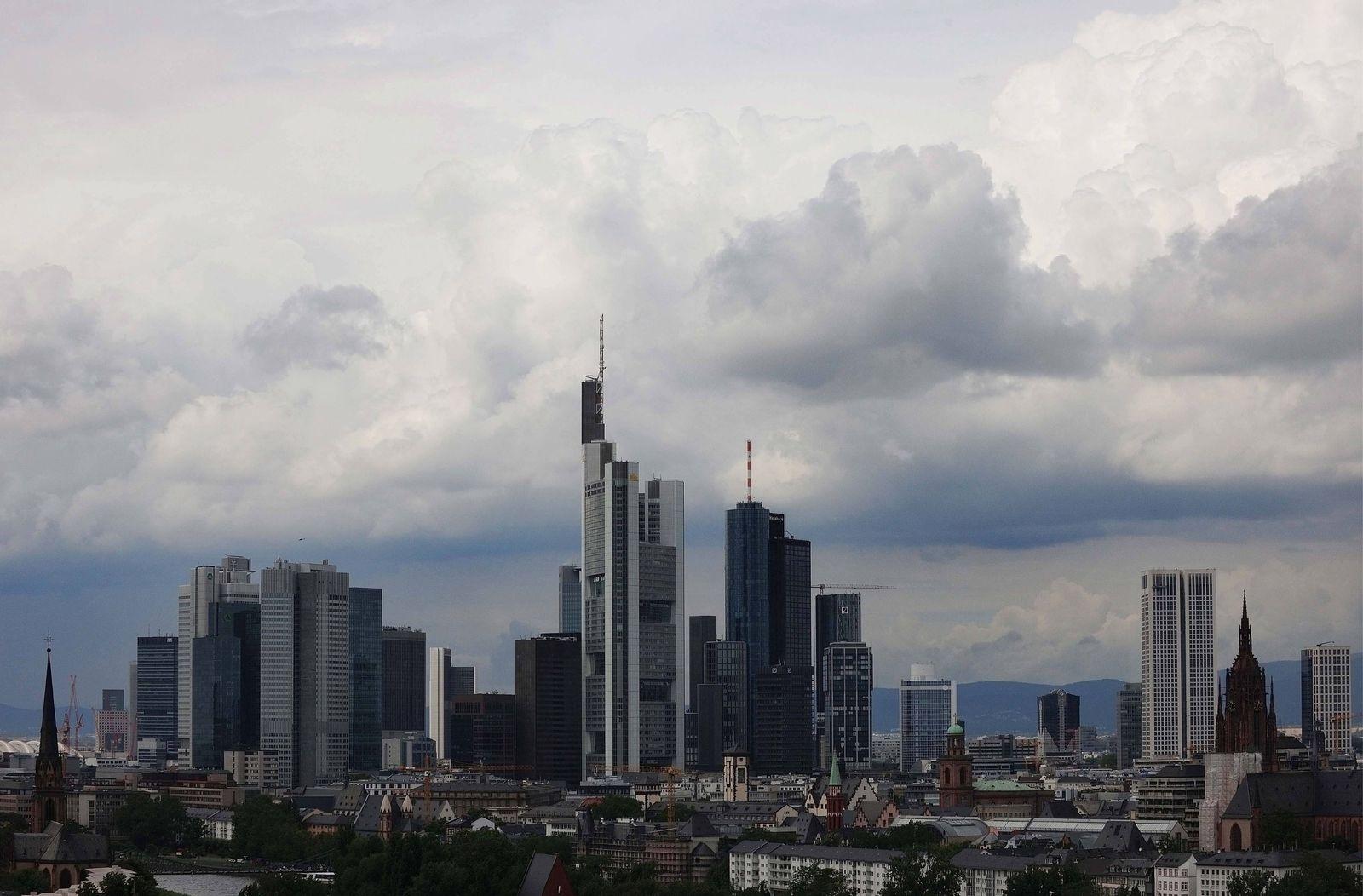 NICHT VERWENDEN Frankfurt / Bankenviertel