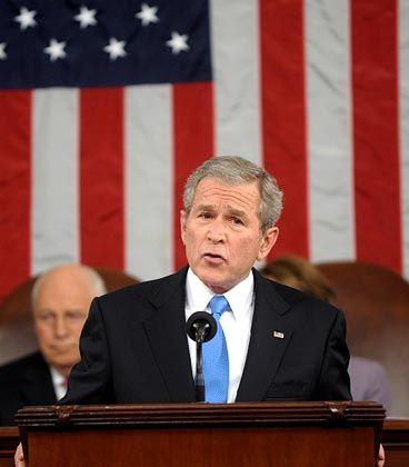 US-Präsident Bush: Gute Zeiten, schwere Zeiten
