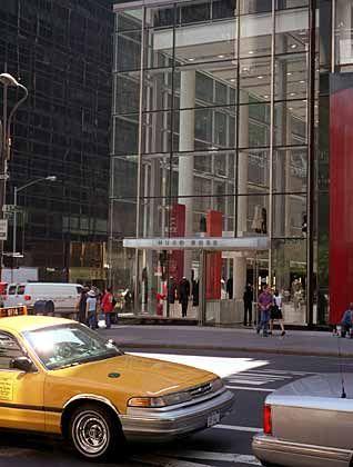 """Welcome Hugo Boss: Das Modeunternehmen ist in der Fifth Avenue mit einem 14.000 Quadratmeter großen """"Flagship-Store"""" präsent"""