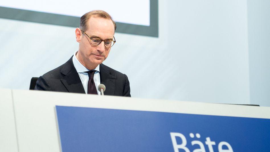 Vorstandschef Oliver Bäte auf der Hauptversammlung der Allianz 2017