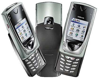 """""""Kamera läuft"""" - bald beim Handy Nokia 7650"""