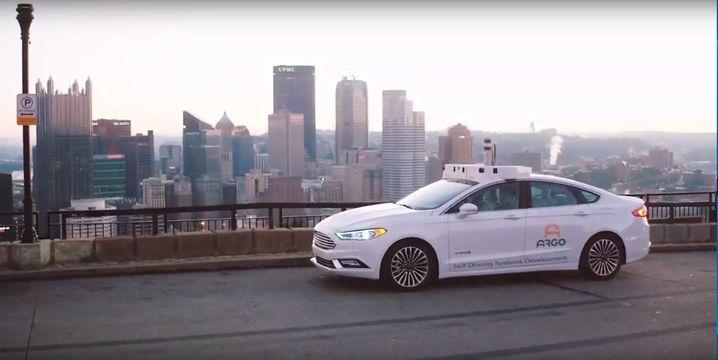 Argo.ai erprobt seine Technik in umgebauten Ford-Fusion-Limousinen