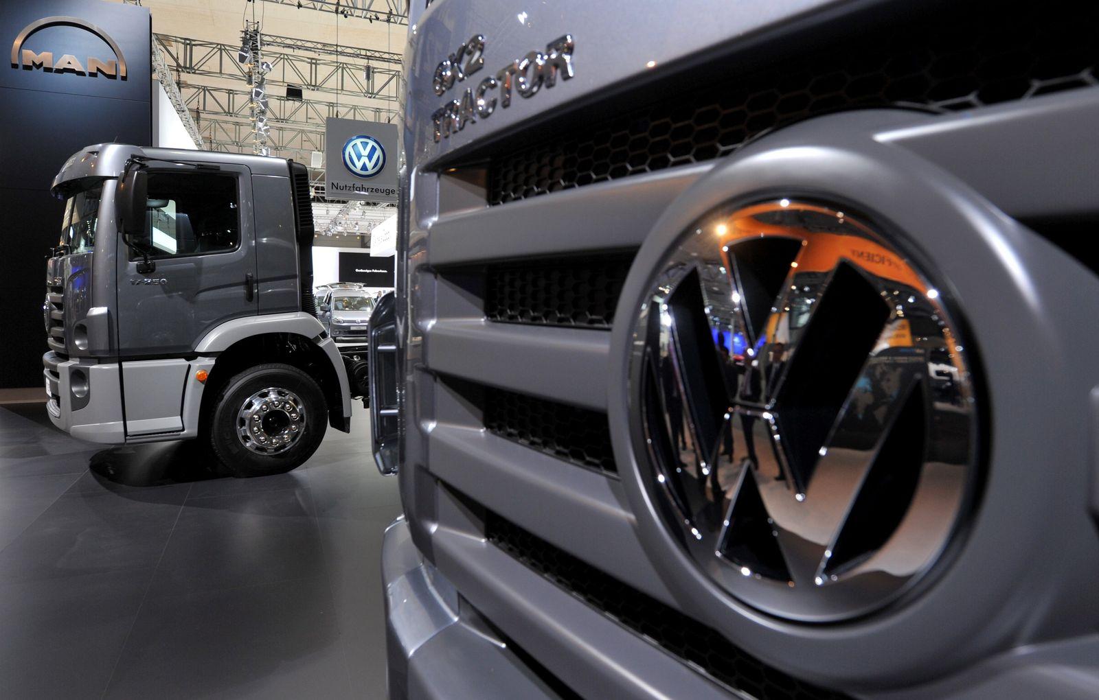 IAA Nutzfahrzeuge 2010 / VW / MAN / LKW