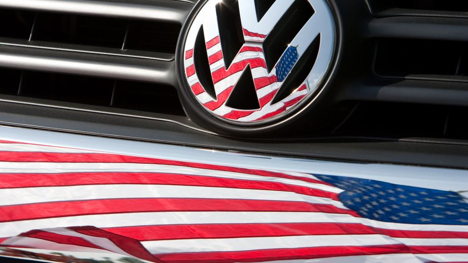 Volkswagen in den USA: Zuletzt meldete der Konzern einen kräftigen Absatzsprung für Nordamerika, nun muss er ein großes Datenleck eingestehen