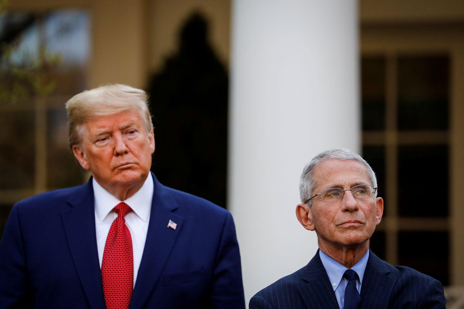 Donald Trump / Anthony Fauci / Coronavirus