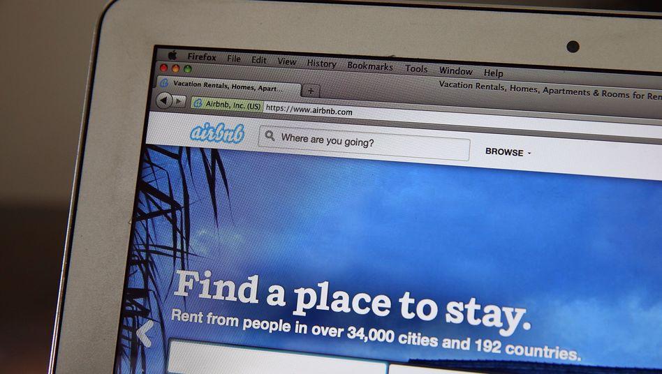 Zimmer frei: Airbnb ist eigenen Angaben zufolge in mehr als 34.000 Städten aktiv und hat weltweit 800.000 Angebote auf der Plattform