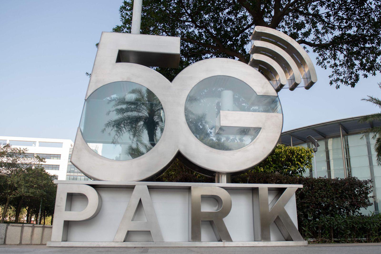 """5G park"" Huawei"