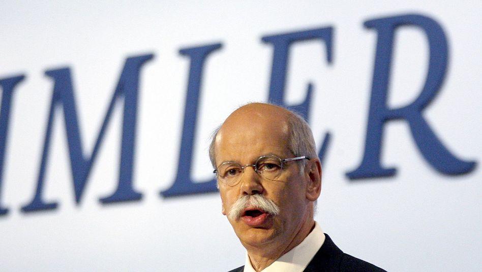 Dieter Zetsche: Der Konzernlenker von Daimler muss sich auf der Hauptversammlung den kritischen Fragen der Aktionäre stellen