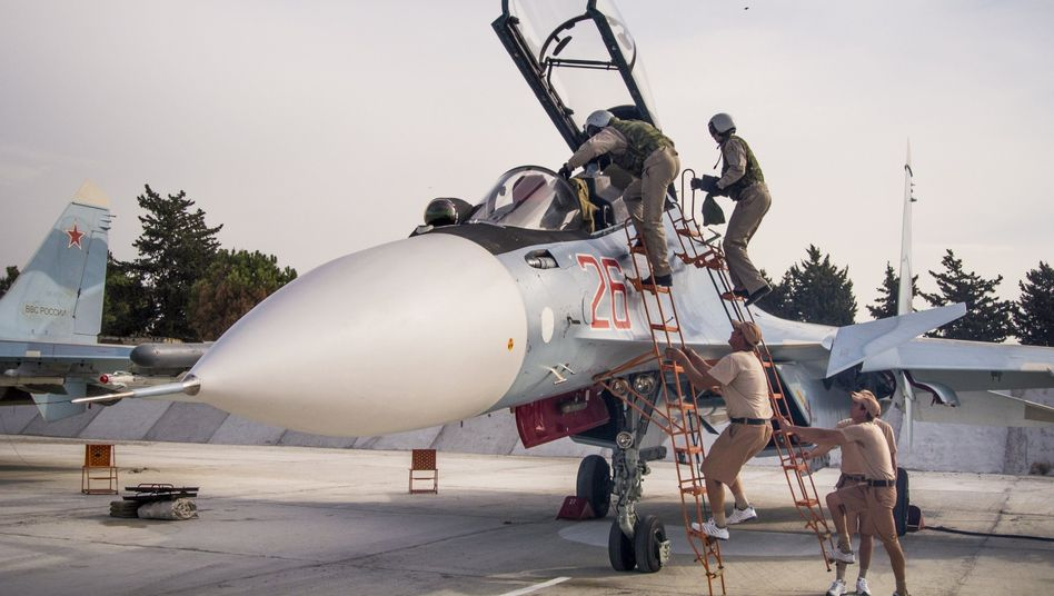 Abzug aus Syrien: Russische Piloten