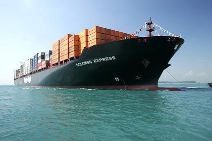 Rendite wird gedrückt: Hapag-Lloyd-Containerschiff Colombo Express