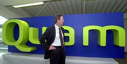 Unsichere Geldgeber: Quam-Chef Ernst Folgmann