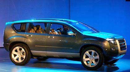 Setzt auf Hybridantrieb: Der Graphyte von General Motors wurde auf der Detroit Motor Show in diesem Januar gezeigt. Der Prototyp ist mit einem 5,3-Liter-V8-Benziner und zwei Elektromotoren ausgestattet und soll ein Viertel weniger Sprit schlucken als ein normales V8-Modell