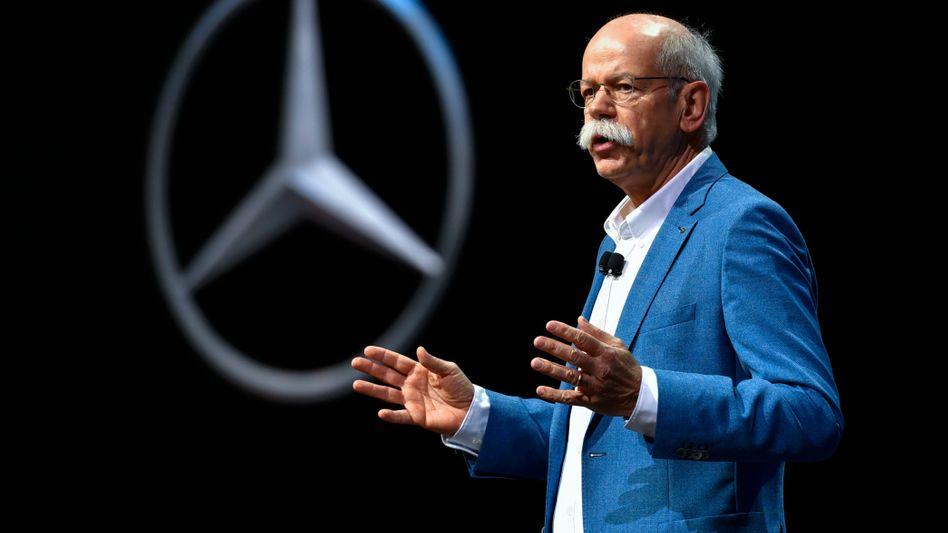 """Daimler-Chef Dieter Zetsche will von Geely """"Konsens"""" über die weitere Kooperation mit Geely-Konkurrent BAIC"""